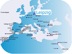 Description: To: Leipzig airport interactive map