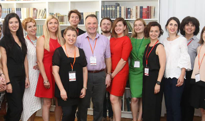 Tips on how to win an international conference from the faculty of Lviv Convention Bureau's July 2018 workshop.