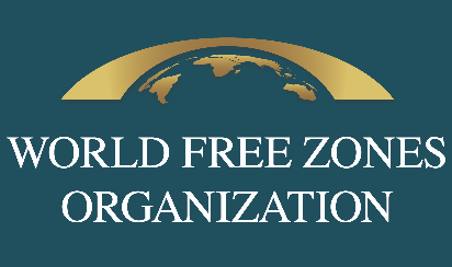 Logo WFZO, World FZO's mission is to bring together free zones from all over the world and promote their positive impacts by providing guidance, knowledge and services to its members