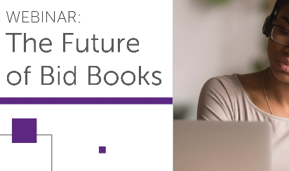 Join Us for a Webinar on the Future of Bid Books.