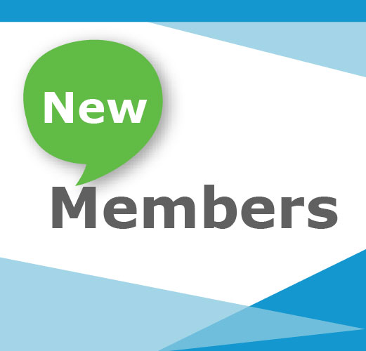 A big welcome to our new members from across the world!