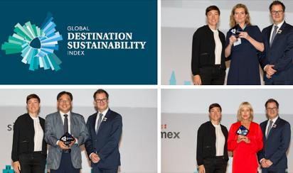 For the third year running, the winners of the GDS-Index awards were announced during the Closing Ceremony of the ICCA Congress, held in 2018 in Dubai